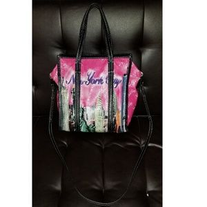 Balenciaga Bazar Shoppers Small AJ NYC Tote Bag